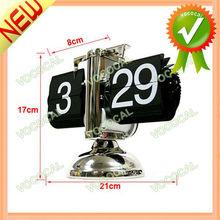 Auto Flip Stand Antique Clock