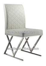 DB-1028 modern white lacquer dining table and chairs
