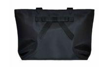 fashion black customized logo leisure big nylon shopping bags,shoulder bags,handbags with bowknot for girls