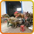 imagen de movimiento animatronic prop de dinosaurios