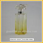 80ml handmade empty glass perfume bottle with pump