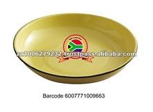 New World 24CM Enamel Rice Round Plate