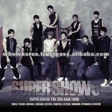k-pop kpop supplier store exporter shop - SUPER JUNIOR - THE 3RD ASIA TOUR CONCERT ALBUM (SUPER SHOW #3) <2 FOR 1>