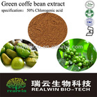 Sell,Green coffe bean extract/pure Chlorogenic acid 50%