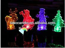 burning-christmas-candles/aniversario/christmas led flasher