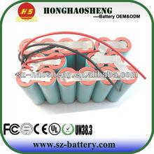 8000mAh 14.4V battery Lithium