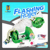 pu wheel with 3-front led lights 2 wheel roller skate with en13899 certificate