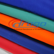 Flame retardant textile for protective clothing