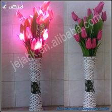 led lighting tulip for Thanksgiving decorative, led artificial flower