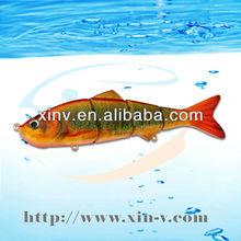 4 polegada 101 mm perfeito swim ação vida como multi articulado wobbler apetrechos de pesca de isca