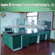 Full steel C frame work bench/central bench lab equipment