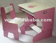 Study table and chair-adjustable