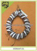 natural rattan wreaths home decorative wooden crafts