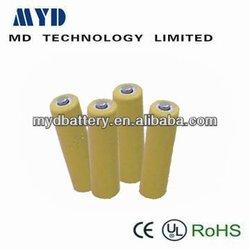 high capacity NI-CD rechargeable battery C 2000mAh 1.2V D-C2000A/B