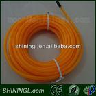 waterproof orange el wire , diameter 5.0mm
