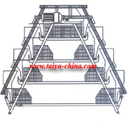 Taiyu california chicken cage (full poultry equipment and own oversea agent)
