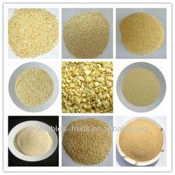 dehydrated granulated garlic G1-G5 kosher&halal certificate