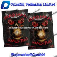 Joker-10g black potpourri spice laser bag/Dead man series