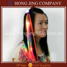 Flashing Led Light Up Noodles Hair Clip For Christmas Day
