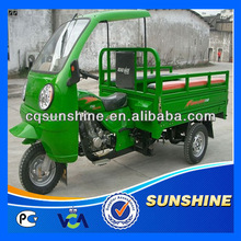 Popular Best-Selling metal semi-cabin carriage tricycle