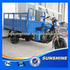 High-End Hot Sale semi-closed cabin cargo tricycle