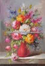 Handmade flower oil painting canvas wall art