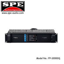 SPE audio manufacturer FP10000Q 4CH extreme power professional power amplifier