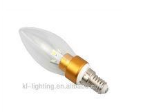 high quality 2013 Hot 3W E12 LED Candle light
