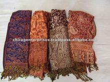 de lana pura india jamawar chales