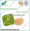 Hot fornecimento puro grão de café verde extrato, chá de polifenóis 98%, egcg45%- 98%