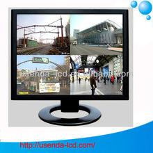 "19"" LCD CCTV Monitor/CCTV LCD Surveillance Monitor with DVI"