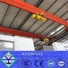 workshop electric single beam 5ton overhead crane for sale