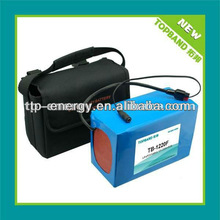 12V lithium iron phosphate battery pack for golf trolley