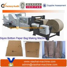 Ping Yang Printed White Kraft Supermarket shopping bag Paper Bag Making Machine