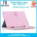 """Hot pink caso computador colorido 7"""" para 10.1"""""""