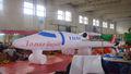 caliente la venta de la marca de la publicidad inflable réplicas de avión