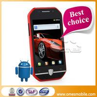 Top sales MTK6515M car shape F599 2 sim 4 Band 3.5'' IPS touch sceen dual sim windows phone