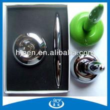 Fancy Cheap Plastic Magnetic Floating Pen Set Gift Pen Set