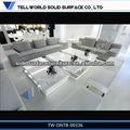 Moderno diseño de la superficie sólida mesa de café/muebles mesa final