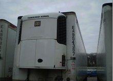 (10) ea. 2005 53x102 utilty, roll door, flat floor reefer trailers sb spectrum