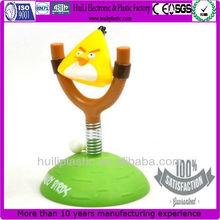 Soft Plastic Bird Toys For Kids;Yellow Plastic Toy Birds;Cute Soft Yellow Bird Toy