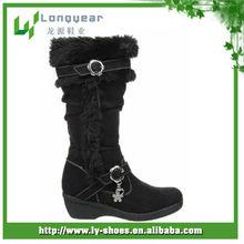 2013 hot design long flat winter snow boots women,women leather winter flat boots,canada winter snow boots for women