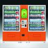 combo snack/drink/sport water/digital screen vending machine