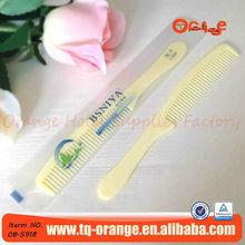 hotel plastic disposable hair comb