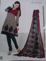 Komal arts Premium cotton dress