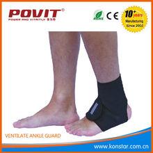 Durable elastic ankle brace