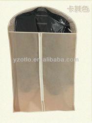 Custom Design Anti-dust PP Spunbond Non Woven Garment Bag for Men's Suits