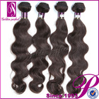 Cheap Reinforce Weft Virgin Peruvian Hair Bundles