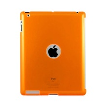 Crystal Case with hole for I-Pad 3 Orange