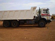 Mercedes 2631 tipper trucks